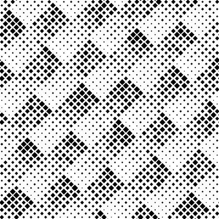 geometric lines: Seamless Square Pattern. Vector Black and White Pixel Background. Fine Graphic Design