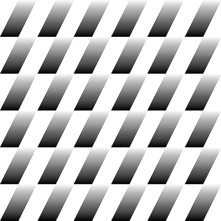 geometric lines: Seamless Diagonal Stripe Pattern. Vector Black and White Background