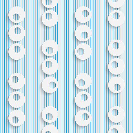 fashion background: Seamless Circle Pattern. White and Blue Minimalistic Ornament. Geometric Decorative Wallpaper. Abstract Fashion Background. Print Graphic Design. Illustration