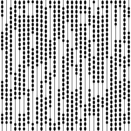 stripe pattern: Seamless Vertical Stripe Pattern. Vector Black and White Background