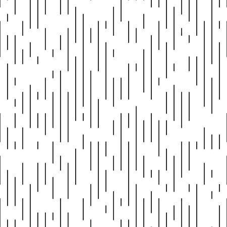 Vector patrón de línea delgada. Diseño minimalista monocromático. Fondo de papel rayado inconsútil. Textura de impresión fina Ilustración de vector