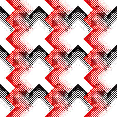 square: British Plaid Ornament. Abstract Diagonal Thin Line Art Pattern. Wrapping Paper Checks Texture. Seamless Tartan Background.