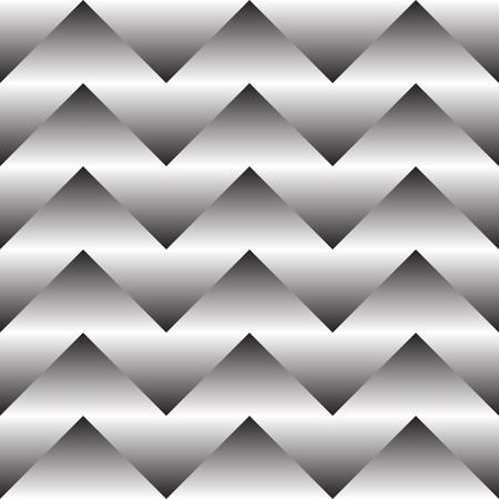 Seamless ZigZag Pattern. Abstract  Monochrome Background. Vector Regular Texture Ilustrace