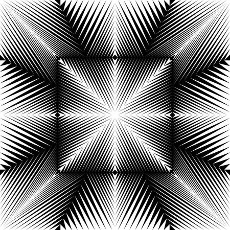 Stripe and Line Pattern senza soluzione di continuità. Vector Texture in bianco e nero Vettoriali