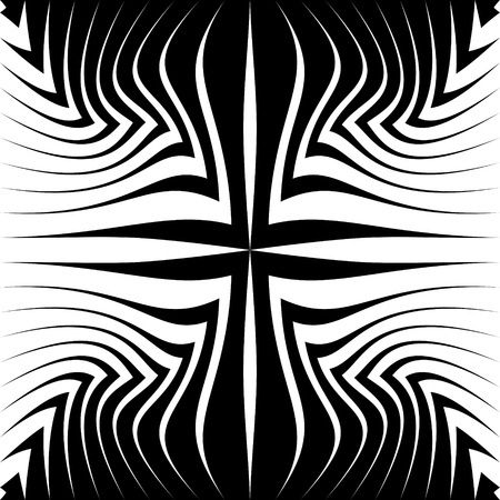 fabric pattern: Seamless Geometric Pattern. Vector Black and White Texture
