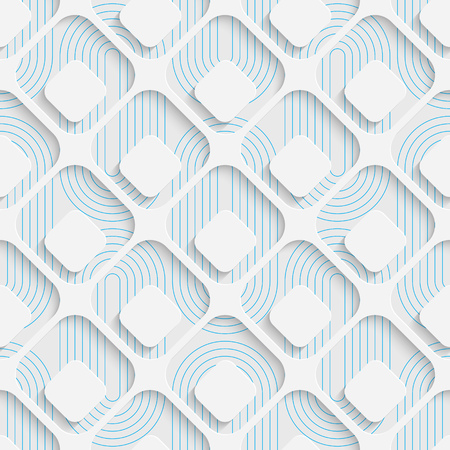 seamless tile: Seamless Tech Pattern. Abstract Contemporary Background. Modern Tile Wallpaper. 3d Structure Design Illustration