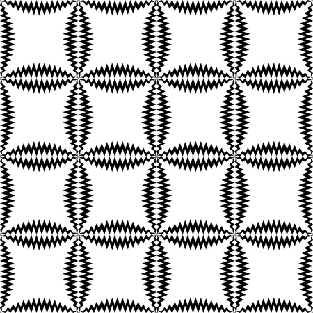 repeat texture: Seamless Geometric Pattern. Vector Black and White Crystal Texture. Repeat Gradient Fabric Background. Minimal Monochrome Clothing Design Illustration