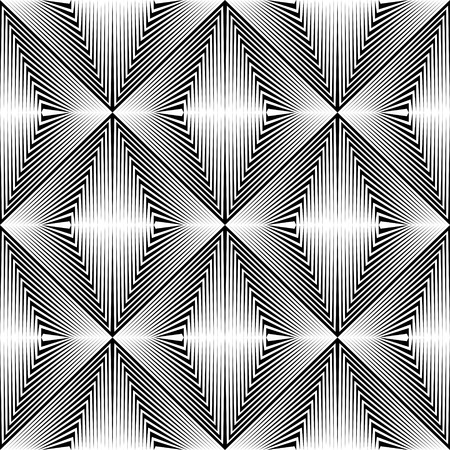 paper graphic: Seamless Rhombus Pattern. Vector Monochrome Line Background. Abstract Wrapping Paper Ornament. Geometric Graphic Design Illustration