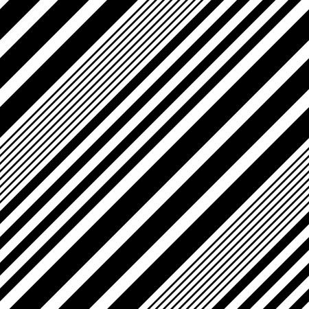 diagonal stripes: Seamless Diagonal Stripe Pattern. Vector Black and White Background