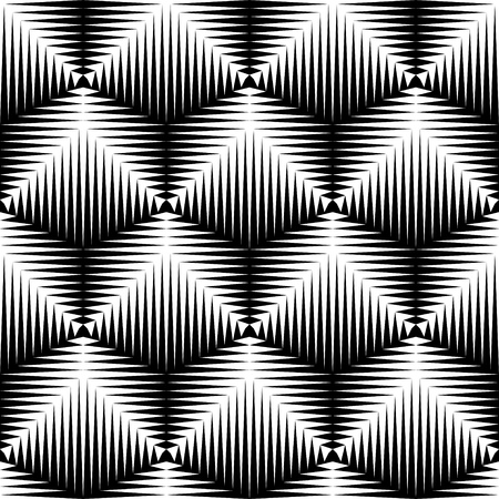 Seamless Cube Pattern. Abstract Futuristic Wrapping Paper Background. Vector Regular 3d Texture. Modern Stripe Design