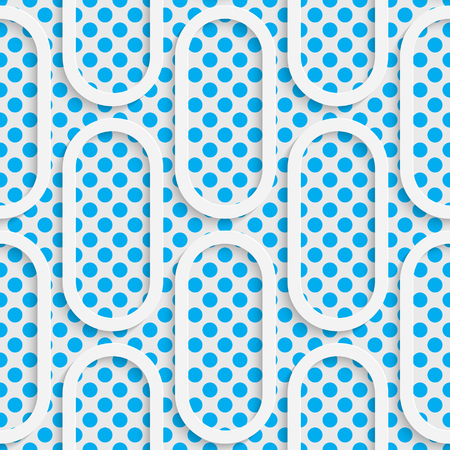 contemporary design: Seamless Tech Pattern. Abstract Contemporary Background. Modern Tile Wallpaper. 3d Structure Design Illustration