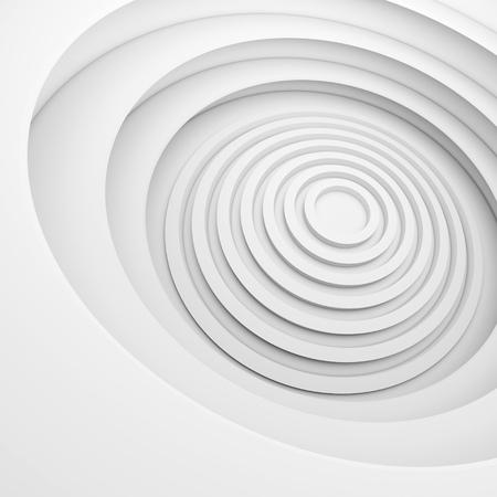 modern interior design: White Architecture Circular Background. Abstract Interior Design. 3d Modern Architecture Render. Futuristic Building Construction. Geometric Structure