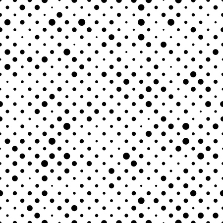 graphic texture: Seamless Circle Pattern. Vector Regular Texture. Abstract Polka Graphic Design Illustration