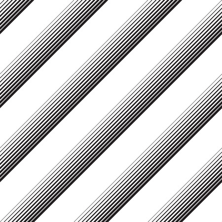 pattern: Seamless Diagonal Stripe Pattern. Vector Black and White Background. Abstract Line Design
