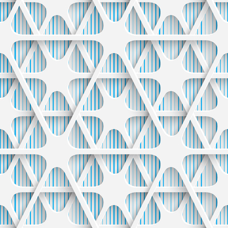 contemporary design: Isolated illustration of Abstract Contemporary Background. Modern Tile Wallpaper. 3d Structure Design