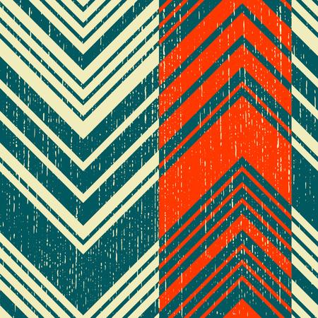 Zig-Zag Pattern, Abstract Hipster Backdrop. Illustration