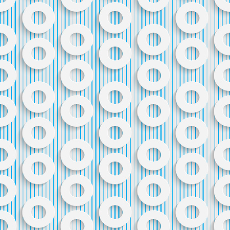 textiles: Seamless Elegant Pattern. Abstract Three-dimensional Background. Modern Textile Wallpaper. White and Blue Art Design