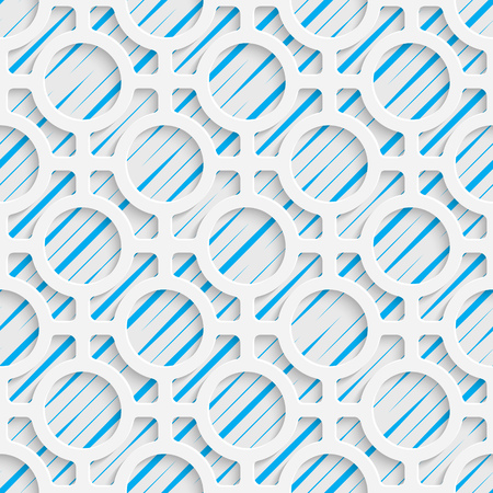 Seamless Mosaic Pattern. Abstract 3d Realistic Background. Modern Fine Wallpaper.