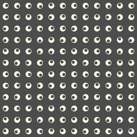 circle pattern: Seamless Circle Pattern. Modern Minimalistic Background. Abstract Wrapping Paper Texture Illustration