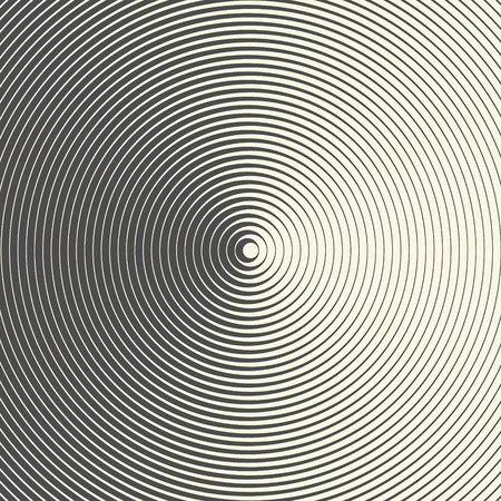 A seamless Abstract Circular Pattern. Monochrome Minimal Background. Futuristic Gradient Graphic Design