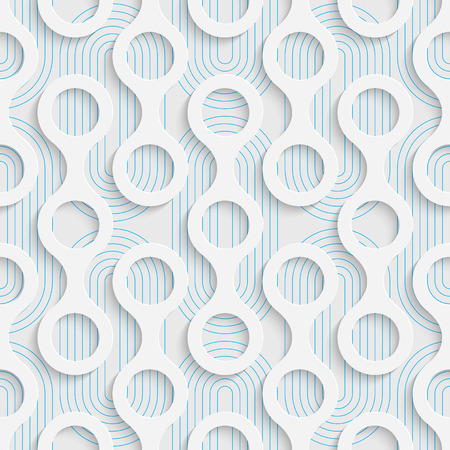 decorative wallpaper: Seamless Minimalistic Pattern. Abstract Fine Background. Futuristic Three-dimensional Wallpaper. Elegant Decorative Design