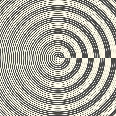regular: Seamless Abstract Circular Pattern. Monochrome Minimal Background. Futuristic Gradient Graphic Design
