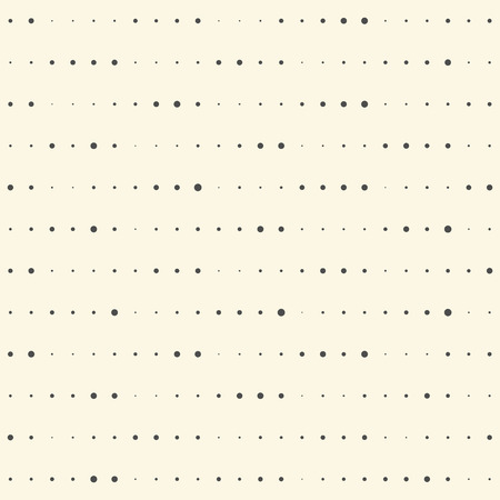 regular: Seamless Stripe Pattern. Vector Halftone Background. Modern Chaotic Dots Design. Minimal Pixel Wallpaper Illustration