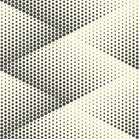 grid pattern: Seamless Rhombus Background. Vector Halftone Texture. Abstract Modern Graphic Pattern