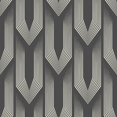 Abstract Celtic Background. Seamless Hauberk Pattern. Vector Monochrome Texture Illustration