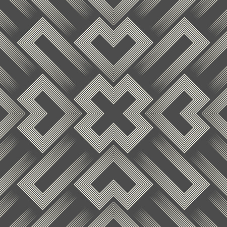 3d Sacred Geometry Background. Abstract Aztec Pattern. Wrapping Paper Geometric Ornament