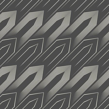 Abstract Tile Background  Seamless Hauberk Pattern. Illustration