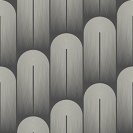 Seamless Striped Pattern. Abstract Disco Background. Minimal Regular Texture Illustration