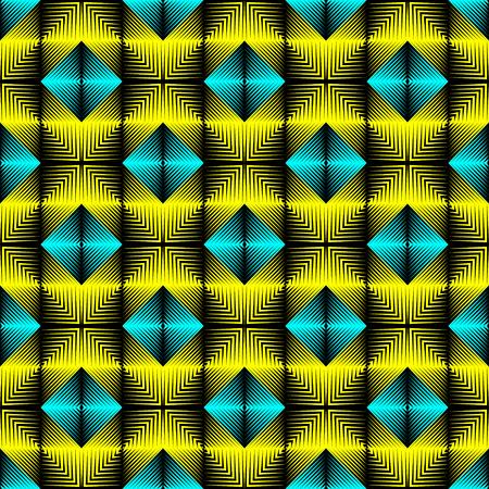 Abstract Regular Ornament. Endless Mosaic Wallpaper. Elegant Graphic Design Vektorgrafik