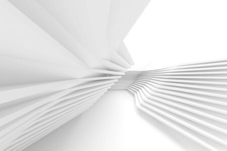 Abstract Engineering Minimalist Graphic Design. White Wall Wallpaper