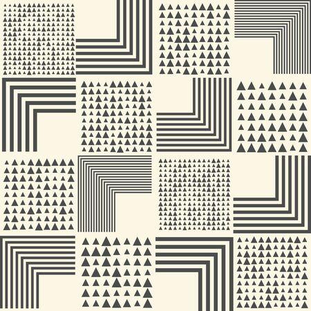 Seamless Creative Wallpaper. Vektorové ilustrace