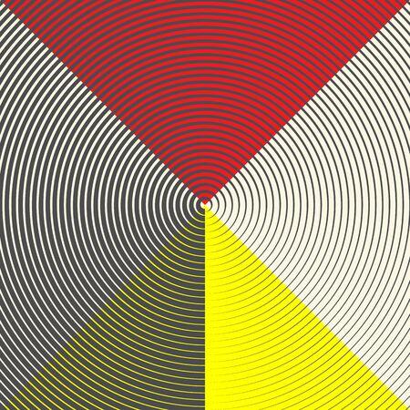 Seamless Circular Pattern Conceptual Geometric