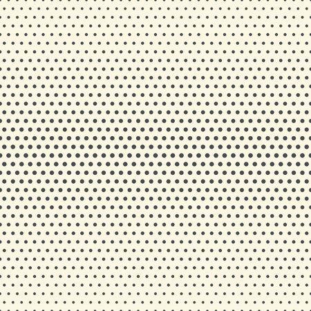 Motif Demi-teinte Sans Soudure. Papier peint élégant minimal. Texture monochrome vectorielle