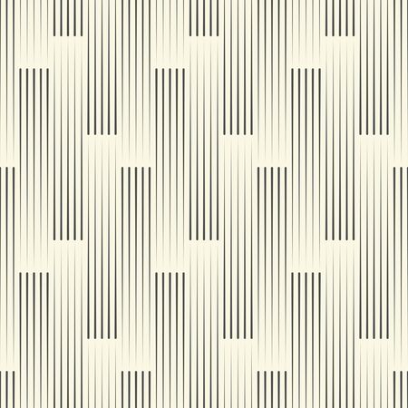 Seamless Striped Background. Monochrome Geometric Pattern. Vector Wallpaper Ilustração Vetorial