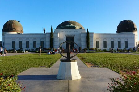 Photo of Griffith Observatory in LA.