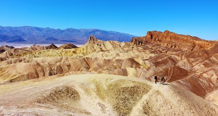 View from Zabriskie Point at Death Valley National Park