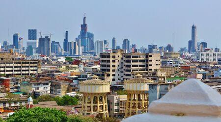 Skyline of Bangkok - a metropolos full of contrast