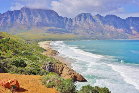 Beautiful South African Coastline along Garden Route