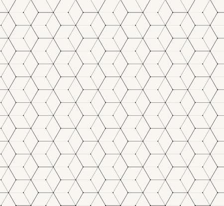 六角形灰色ベクトル単純なシームレス パターン背景