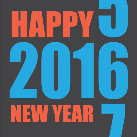 chinese new year card: 2016 Chinese New Year card design vector