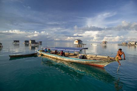 Local lifestyle at Borneo Sabah , Malaysia.
