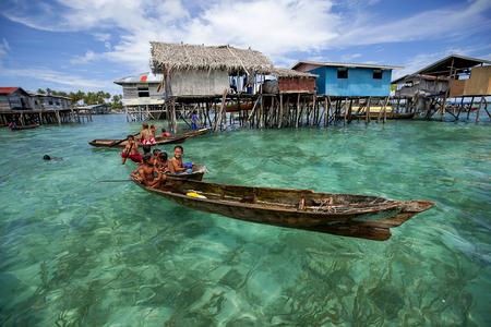 Local lifestyle at Borneo Sabah , Malaysia. Editorial