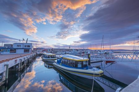 Franklin Wharf at Hobart Tasmania