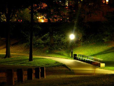 Central Park 's nachts