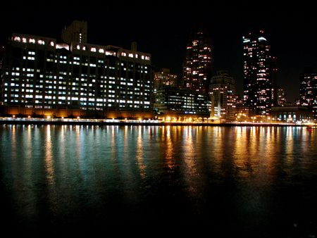 Skyline Stockfoto - 3600912