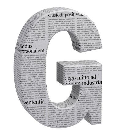 3D LETTER RENDER JOURNAL